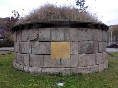Der Tumulus, ein Hügelgrab errichtet ca. 50 nach Christus