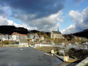 Blick auf die Altstadt von Beyenburg