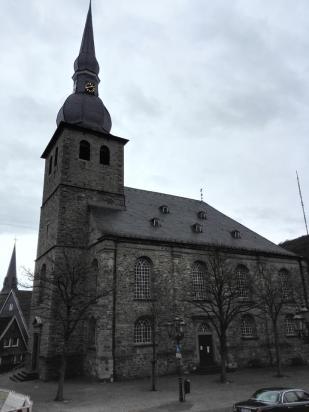 Die protestantische Alte Kirche am Marktplatz