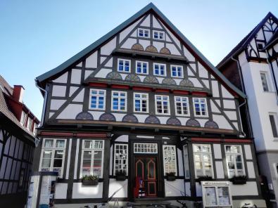 In der Altstadt von Detmold