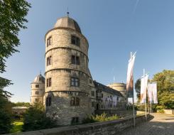 Auffahrt zur Wewelsburg (Foto: Tsungam | http://commons.wikimedia.org | Lizenz: CC BY-SA 3.0 DE)
