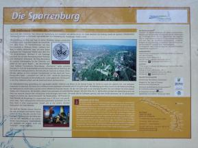 Hoch zur Sparrenburg