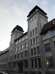 In der Altstadt von Bielefeld