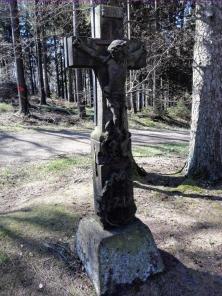 Altes Wegkreuz von 1712
