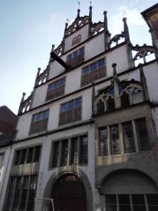 In der Altstadt von Lemgo