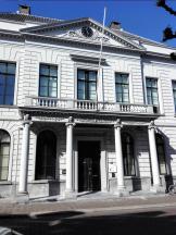 """Fassade der lokalen Vertretung der """"Rechtbank Rotterdam"""""""