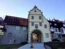 Das Würzburger Tor, der nördliche Zugang zur Altstadt