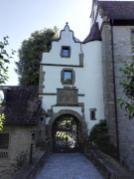 Portal des ehemaligen Jagdschlosses Hermersberg