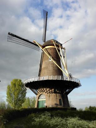 Die Windmühle an der Merwede