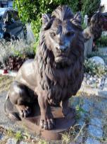 Eine Löwe aus Stein in Löwenstein - das passt doch.