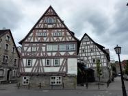 Alte Fachwerkbauten, heute Sitz der Tourist-Information