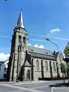 Die kath. Pfarrkirche St. Martinus