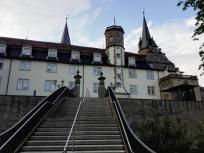 Treppenaufgang aus dem Hofgarten hinauf zum Schoss