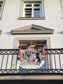 Wappen am Amtsgericht