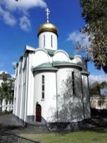 Die alte Russisch-Orthodoxe Kirche