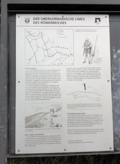 Die Jagst bildete hier fast vierhundert Jahre die Grenze des Römischen Reiches