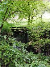 Verfallene Reste der ehemaligen Jagsttalbahn