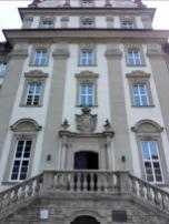 Portal der neuen Abtei