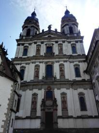 Front der Klosterkirche