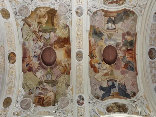 Deckengemälde in der Klosterkirche