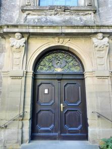 Portal der Schosskirche