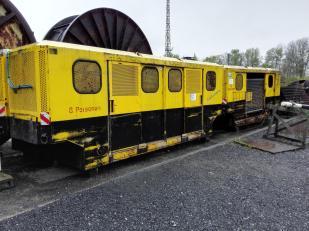 Moderne Grubenbahn aus den 1960er Jahren
