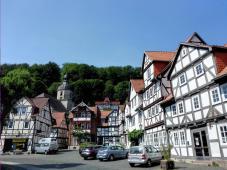 """Häuser an der """"Kurmeile"""""""