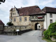 Zugang zur Burg Stettenfels