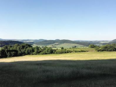Landschaft nordöstlich von Limbach