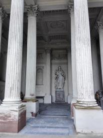 Detailansicht Minervatempel