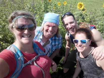 Jutta, Micha, Christian und Nina