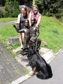 Die Damen am Märchenwald bei Altenberg