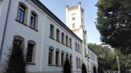 Das alte Schloss, heute Sitz des Landgerichts und des Amtsgerichts