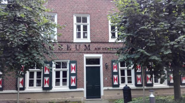 Das Stadtmuseum unterhalb der Burg