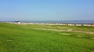 Strandkörbe am Südstrand von Dangast