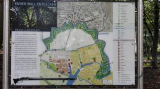 Heute ein Grüngürtel - der mittelalterliche Verteidigungsring rund um die Stadt