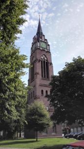 Turm der evangelischen Stadtkirche zu Jever