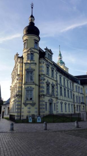 Ecke zwischen Innenhof und Schlossplatz