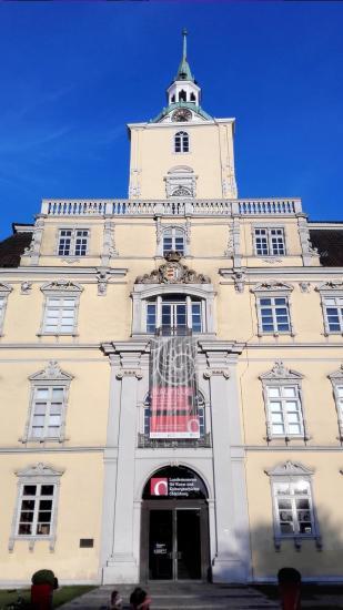 Das große Portal von Schloss Oldenburg
