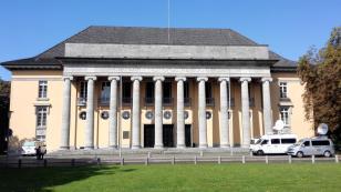 Das Gebäude des Oldenburgischen Landtags