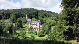 """Schloss Gimborn, heute Bildungszentrum der """"International Police Association"""""""
