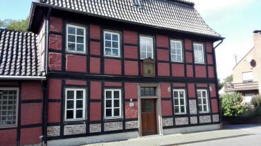 Denkmalgeschütztes Haus in Hülchrath