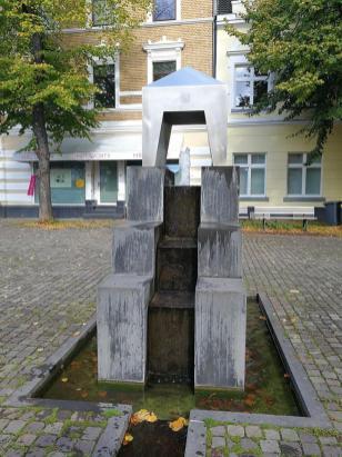 Brunnen in der Altstadt von Gerresheim
