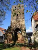Turm an der alten Schlosskapelle