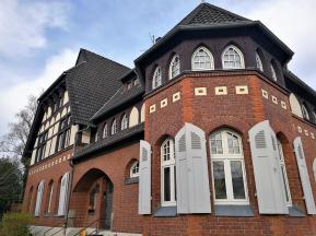 Verwaltungsgebäude an der ehemaligen Zeche Erin