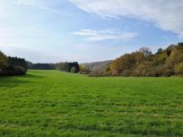 Offene Feldflächen auf der Hochebene