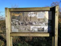 Erinnerungstafel an den Reinartzhof
