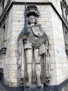 Rolandfigur am Rathaus