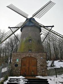 Die alte Rheurdter Turmwindmühle von 1880
