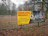 Im Bucholter Bruch befindet sich ein Ausbildungszentrum für Rettungshunde